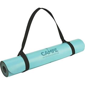 CAMPZ PU Position Line Esterilla de yoga M, blue